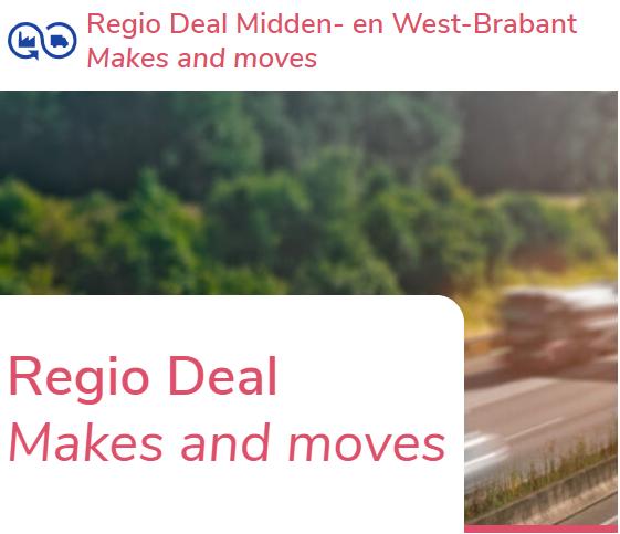 Regio Deal Midden- en West-Brabant brengt GPEC onder de aandacht